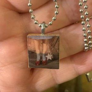 There's No Place Like Home Scrabble Tile Necklace